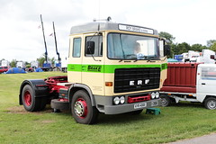 Roy Brake and Sons ERF KYR408X Malvern Truckfest 2019 (davidseall) Tags: roy brake sons erf kyr408x malvern truckfest 2019 kyr 408x truck lorry tractor unit artic large heavy goods vehicle lgv hgv old british haulage transport worcestershire uk