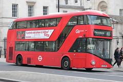 LT285 LTZ 1285 (ANDY'S UK TRANSPORT PAGE) Tags: buses london whitehall nbfl goaheadlondon londongeneral