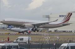 VP-BHD / Airbus A330-243 ACJ330 / 1751 / Jet Aviation Hong Kong (A.J. Carroll (Thanks for 1 million views!)) Tags: vpbhd airbus a330243 a330200 a330 a332 330 332 acj330 1751 debs 424276 jetaviationhongkong london heathrow lhr egll 27l trent772b60