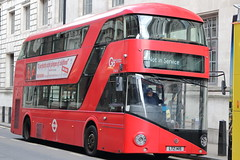 LT415 LTZ 1415 (ANDY'S UK TRANSPORT PAGE) Tags: buses london whitehall nbfl goaheadlondon bluetriangle