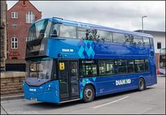 Diamond Bus SO19MVX (Mike McNiven) Tags: rotala diamond bus northwest bolton depot interchange manchester shudehill wright streetdeck