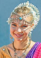 _MG_9163 (Mikhail Lukyanov) Tags: woman girl smile eyes jewelry sari summer ethnic portrait outside