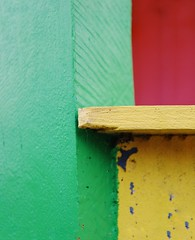 Rainbow of colors (erlingraahede) Tags: lines vsco canon streetphotography colors colorful holstebro simplicity