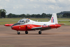 Hunting Jet Provost T5 - XW324 - G-BWSG (TyAviationImages.co.uk) Tags: riat 2019 raf fairford 18 july hunting jet provost t5 xw324 gbwsg