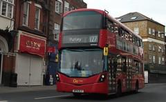 Metrobus WHV45 on route 127 Mitcham 11/08/19. (Ledlon89) Tags: london bus buses transport tfl transportforlondon londonbus londonbuses londontransport tooting mitcham swlondon arriva goaheadlondon londongeneral