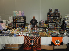 Collectors paradise toys and collectables for all geeks (garydavidworthington) Tags: creators liverpool sunnyconanimeexpo 2019 art creative photography people garydavidworthington banjosandwitch artistic royalalbertdock accarena stall crafting handcrafted festival toys adult children crazytuesday
