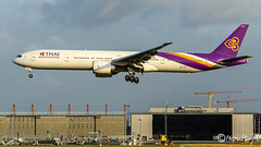 Thai Airways International, Boeing 777-3D7(ER), HS-TKZ, 42115, Sulalivan, August 11, 2019 (mhoejte) Tags: copenhagenairport ekch cph