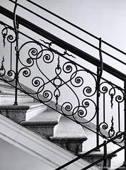 Defiinitly down, because I was up before (Mike Reichardt) Tags: blackwhite blancetnoir bianconegro monochrome minimalism minimal architecture architektur abstrakt schwarzweiss gebäude