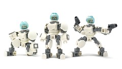 """LEGO """"Actionfig"""" V3 (Alex Kelley) Tags: robot robots character 3d industrial minifig minifigs minifigure minifigures modular product design toy afol moc lego"""