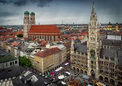 2019 My favourite City (jeho75) Tags: sony ilce 7m2 zeiss germany bavaria munich münchen marienplatz frauenkirche blick alter peter cityscape