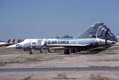 F106A  90077 (TF102A) Tags: aviation aircraft airplane amarc amarg masdc boneyard convair f106 deltadart 90077 590077 f106a usaf usairforce kodachrome