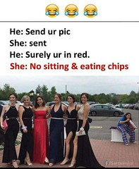 Surely You Are In Red.. (gagbee18) Tags: aww chat girls picture wtf