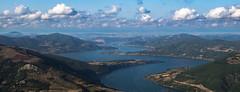 View from Kapıkaya (anlgngr7) Tags: canon eos 77d is usm 18135mm nano lens view views lake dam mountains mountain göl baraj dağlar dağ manzara sky clouds kapıkaya gökyüzü bulutlar water su samsun bafra