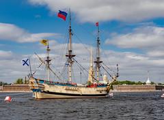 Navy Day, Saint Petersburg, Russia