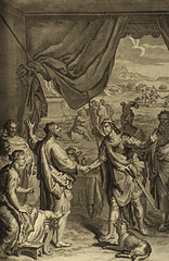 Abimelek makes peace with Isaac (Genesis 26:26 - 26:33) (bibleblender) Tags: abimelech abraham beersheba genesis gerar isaac