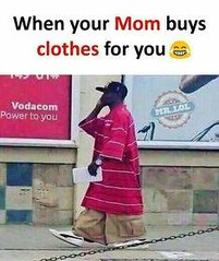 When Your Mom Buys Clothes For You .. (gagbee18) Tags: aww clothes funny mom shopping wtf