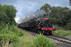 LMS/NCC WT Class Loco (4) at Kellswater South AHB, August 2019 (Photos by Nathan Lawrence) Tags: lms ncc loco locomotive steam train rpsi 4 wt class portrush flyer antrim ballymena kellswater