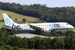 G-FBJG (GH@BHD) Tags: gfbjg embraer erj erj175 erj175200std flybe be bee bhd egac belfastcityairport regionaljet aircraft aviation airliner