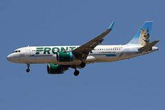 A320.N337FR (Airliners) Tags: frontier frontierairlines 320 a320 a320neo a320251n airbus airbus320 airbusa320 airbusa320neo airbusa320251n bobcat hunterthebobcat iad n337fr 81119