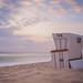 Ein Strandkorb auf Sylt
