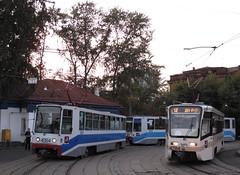 Moscou (Jean (tarkastad)) Tags: moscou москва russie tarkastad tram tramway russia moscow pоссия streetcar lightrail lrt трамвай strasenbahn