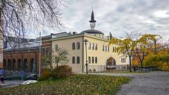 Mosque at Södermalm in Stockholm, Sweden 27/10 2013. (photoola) Tags: stockholm moske mosque södermalm photoola shurch sweden