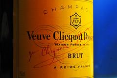 _DSC2237a (alfplant2009) Tags: macromondays printed word label bottle yellow champagne