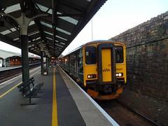 150207 Truro (1) (Marky7890) Tags: gwr 150207 class150 sprinter 2f92 truro railway cornwall cornishmainline train