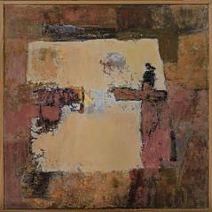 MOVING CLOSER (Carol O'Neill - ART) Tags: art brewerstreet cambridge abstractart outdoor painting paintingbycaroloneill paintings