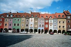 Poznań (Peter Gutierrez) Tags: street old city people streets building film public stone buildings photography town photo europe european pavement stones centre poland polish center medieval cobbled pole east cobblestones cobble cobblestone sidewalk peter photograph gutierrez quarter poles cobbles eastern renaissance poznań posen hanseatic petergutierrez