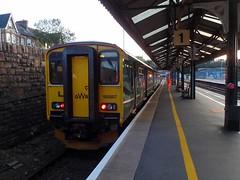 150207 Truro (3) (Marky7890) Tags: gwr 150207 class150 sprinter 2f92 truro railway cornwall cornishmainline train