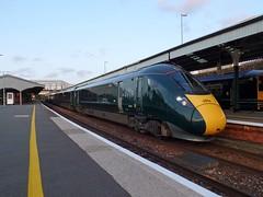 802022 Truro (2) (Marky7890) Tags: gwr 802022 class802 iet 1c87 truro railway cornwall cornishmainline train