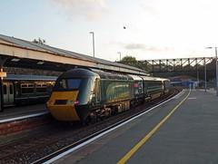 43093 Truro (Marky7890) Tags: gwr 43186 class43 hst 2c51 truro railway cornwall cornishmainline train