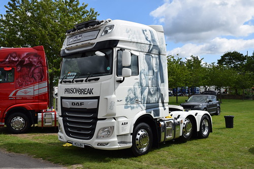 A B H of Mansfield DAF XF Euro 6 Super Space Cab MS11 ABH