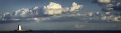 Port Maitland Clouds (Joe Iannandrea) Tags: landscape seascape panoramic lighthouse clouds sky water outdoors nautical lakeerie ontario canada portmaitland sunset
