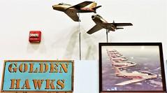 Golden Hawks (Will S.) Tags: goldenhawk goldenhawks airplanes aeroplanes rcaf mypics trenton ontario quinte quintewest quinteregion quintearea canada rcafmuseum rcafmemorialmuseum nationalairforcemuseumofcanada nationalairforcemuseum royalcanadianairforce canadiana cfbtrenton