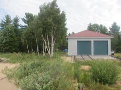 Coast Guard boathouse (patred48) Tags: coast guard boathouse