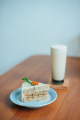 DFK_2544 (楚志遠) Tags: 楚志遠 凍先生 nikon 50mm f14 美食 下午茶 屏東 磅蛋糕 繫本屋