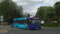 Arriva Midlands Wrightbus VDL Pulsar TUI 7935 3804 - Nuneaton (Efan Thomas Bus Spotting Photography) Tags: arriva midlands wrightbus vdl sb200 pulsar mx13akj tui7935