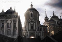 Nilo-Stolobenskaya pustyn (Lyutik966) Tags: monastery cathedral church orthodoxyreligion architecture russia isle seligerdome window stairs