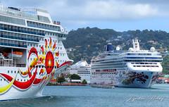 Norwegian Sun & Norwegian Gem (Lyndon Henry) Tags: norwegian gem sun castries stlucia cruise lines sea ocean travel vacation holiday ncl