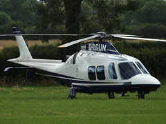 G-DGUN AgustaWestland AW-109SP GrandNew Helicopter (Castle Air Ltd) (Aircaft @ Gloucestershire Airport By James) Tags: launton gdgun agustawestland aw109sp grandnew helicopter castle air ltd james lloyds