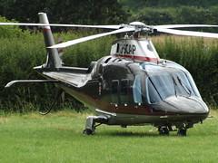 G-SCAP Leonardo AW-109SP Grand New Helicopter (Apollo Air Services Ltd) (Aircaft @ Gloucestershire Airport By James) Tags: launton gscap leonardo aw109sp grand new helicopter apollo air services ltd james lloyds