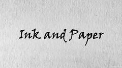 Ink and Paper (Patches Photo) Tags: macromonday macro macromondays printedword minimalist texture paper fiber ink monochrome text