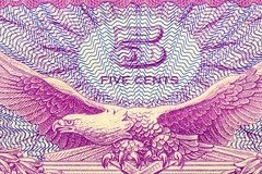 5 Five Cents (donjuanmon) Tags: donjuanmon nikon macro macromondays hmm printedword money 5 five cents paper ink printing currency vietnamwar 1960s eagle magenta cyan