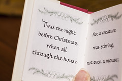 Twas the night before Christmas (in Explore) (mimsjodi) Tags: macromondays printedword poem christmas challenge groupchallenge macro