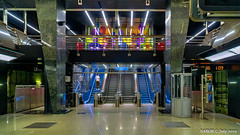 Moscow, Russsia: Petrovsky Park metro station, Lines 8A & 11 - Opened 2018 (nabobswims) Tags: enhanced hdr highdynamicrange ilce6000 lightroom metro mirrorless mockba moscow nabob nabobswims petrovskypark photomatix ru rapidtransit russia sel18105g sonya6000 station subway ubahn петровскийпарк