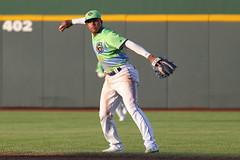 Mejia on defense (Minda Haas Kuhlmann) Tags: sports baseball milb minorleaguebaseball pacificcoastleague omahastormchasers omaha nebraska papillion sarpycounty outdoors cazadoresdetormentas erickmejia