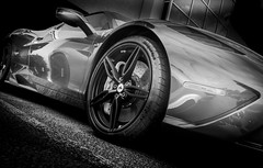 SPECIALE (Dave GRR) Tags: ferrari speciale ferrari458 cars coffee auto show toronto supercar luxury exotic sportscar racing racingcar monochrome mono black white