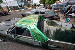 chevy (pixel fixel) Tags: airbrush chevrolet green historicfrontstreetcarshow norwalk pinstriping southeastclassicscc tweakedpixels ©2019kathygonzalez